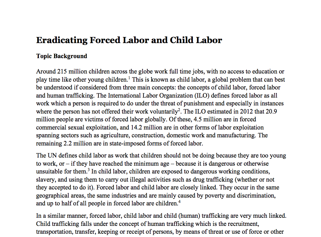 child labor in steel industries essay Child labor eric v edmonds   national bureau of economic research 1050 massachusetts avenue occupation and industry of.